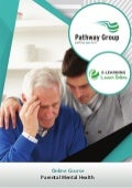 Parental Mental Health, E-learning Pathway Courses, Pathway Group