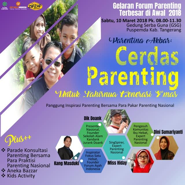 Parenting akbar maret 2018