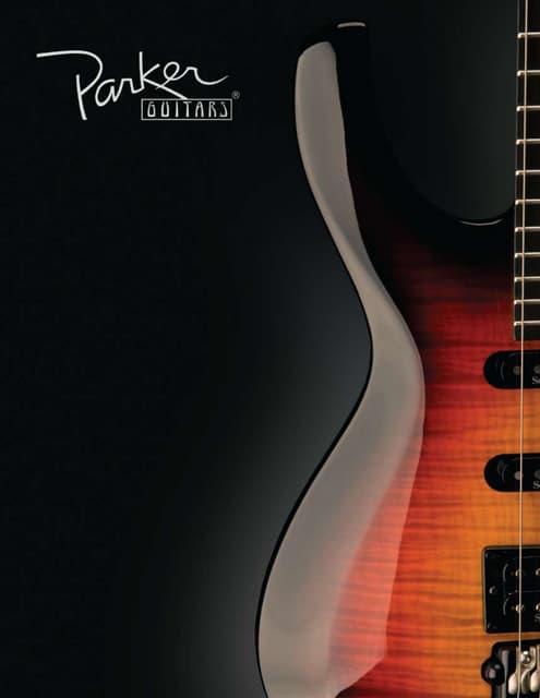 Parker bridge saddles set of 6 for Parker Fly guitar Gold