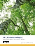 Parker Hannifin 2012 Sustainability Report