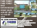 Park Forest Subdivision Baton Rouge Home Sales Update August 2014