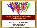 Park School of Baltimore Cultural Competency Leadership