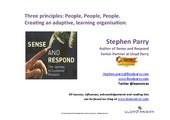 Lean Principles People People People Parry ACE 2014