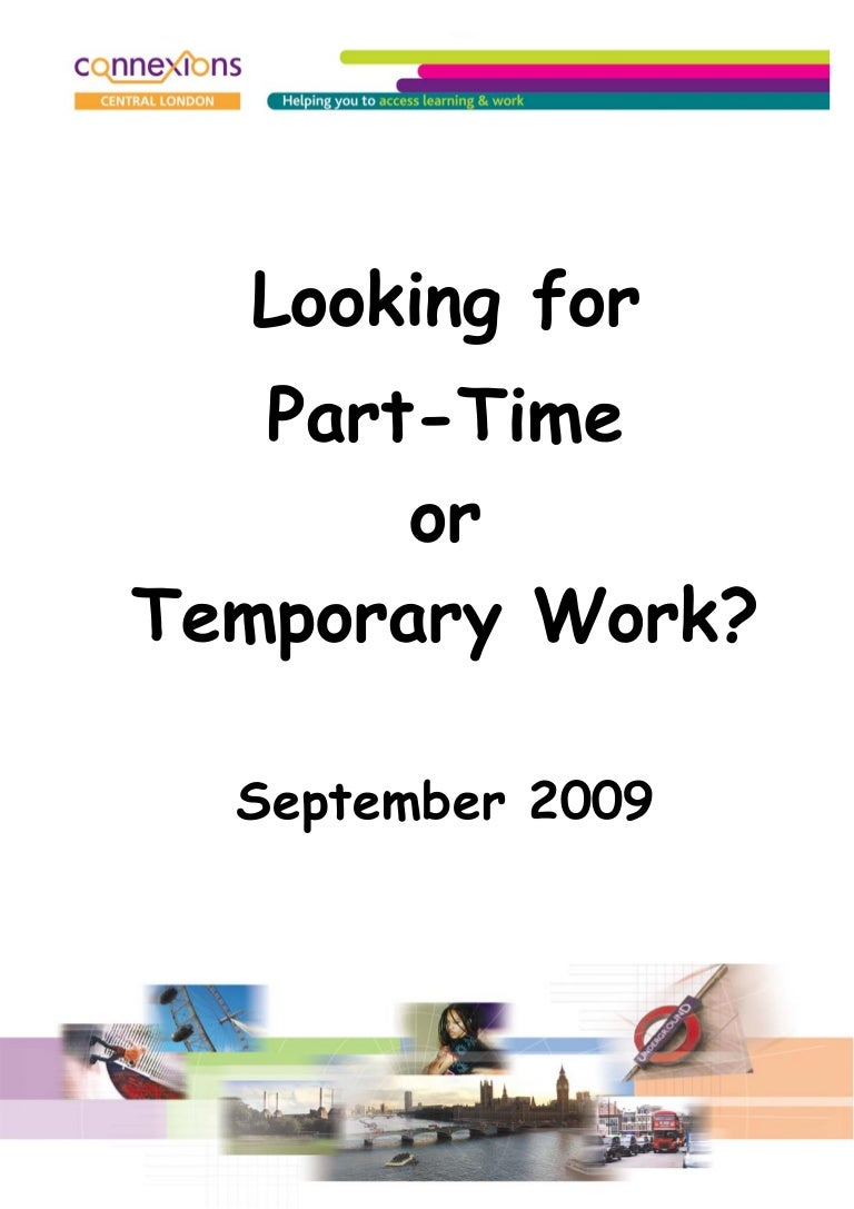 part time temp work sep