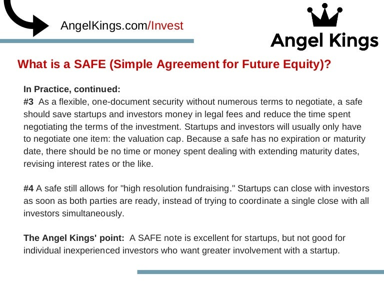 What Is A Safe Agreement Part 2 Angelkings