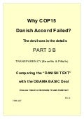 Part 3 B Cop15 Failure Analysis  Transparency Evaluation in Climate Change
