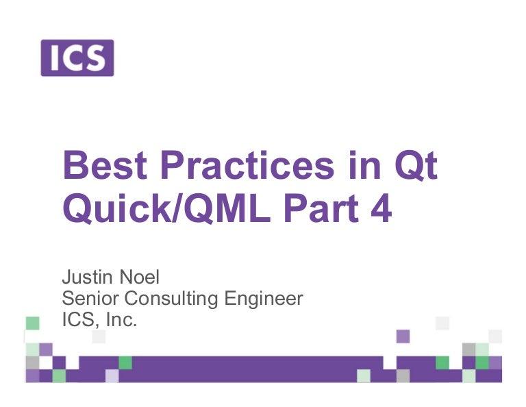 Best Practices in Qt Quick/QML - Part 4