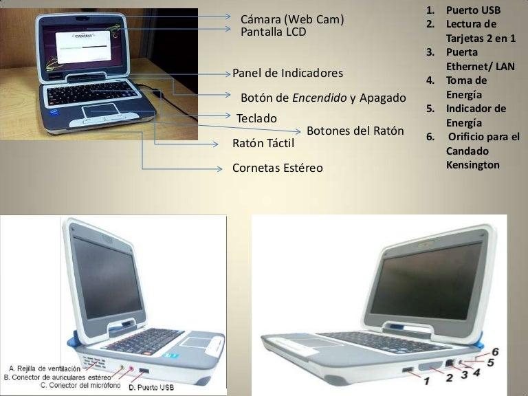 Partes de una computadora canaima 2