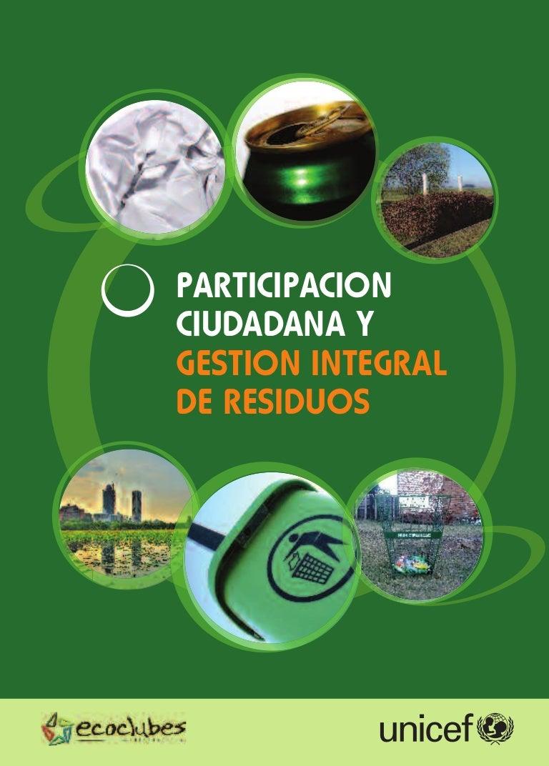 188739fef8b2 Participacion ciudadana y gestion integral de residuos   Experiencias…