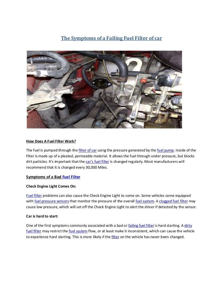 Partsavatar After Market Car Parts, Canada - The Symptoms of a Failin…SlideShare