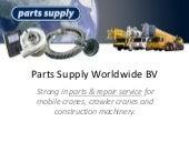 Parts supply worldwide bv ppt
