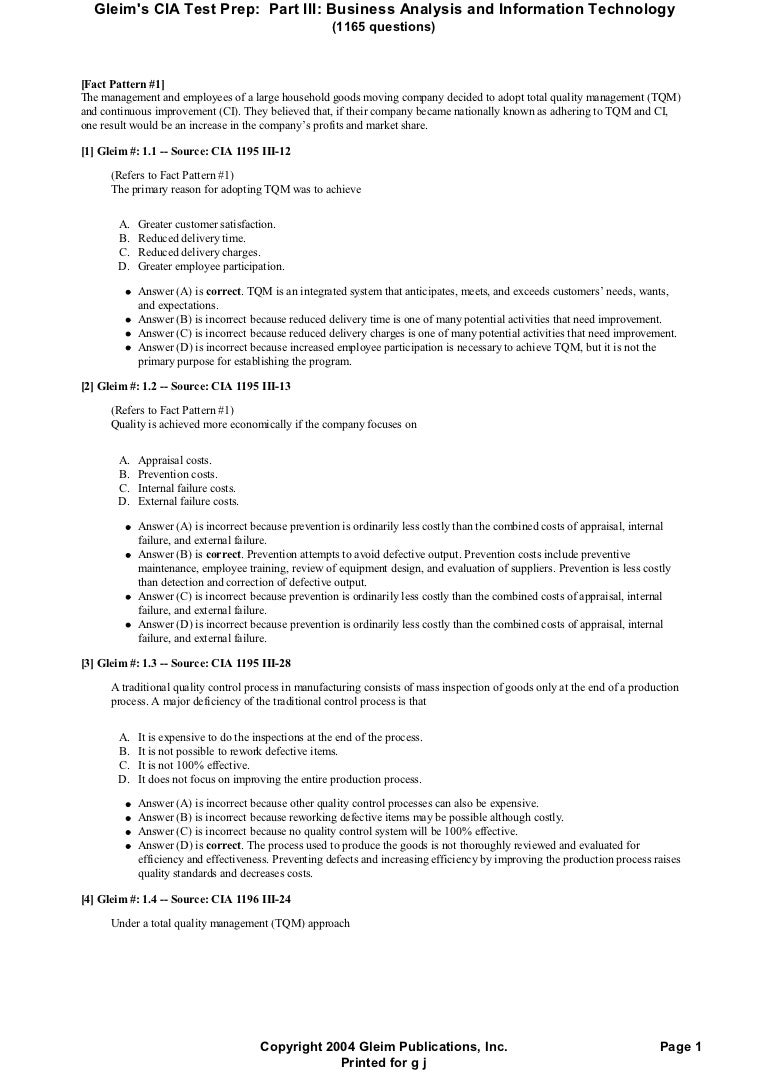 Part three cia_with_ answers
