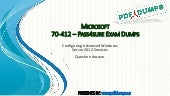 Pass4sure 70-412 microsoft exam dumps