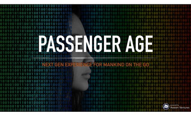 Passenger Age: Next-gen Mobility by Tommaso Di Bartolo