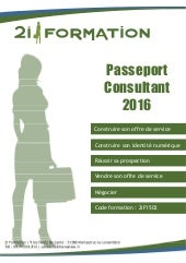 "Formation ""Passeport Consultant"""