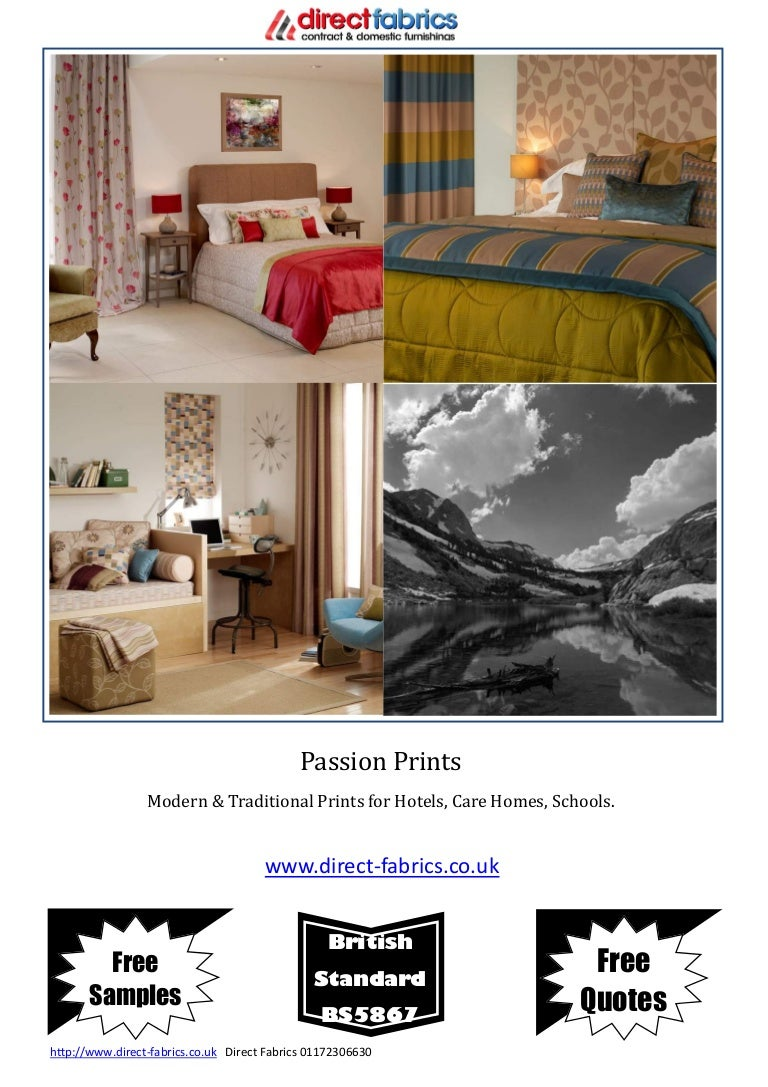 Passion Prints Catalogue 03301118995 Direct Fabricscouk