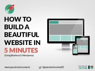 Passive income-io-website-in-5-minutes