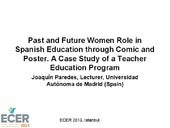 Past and Future Women Role in Spanish Education through Comic and Poster. A Case Study of a Teacher Education Program