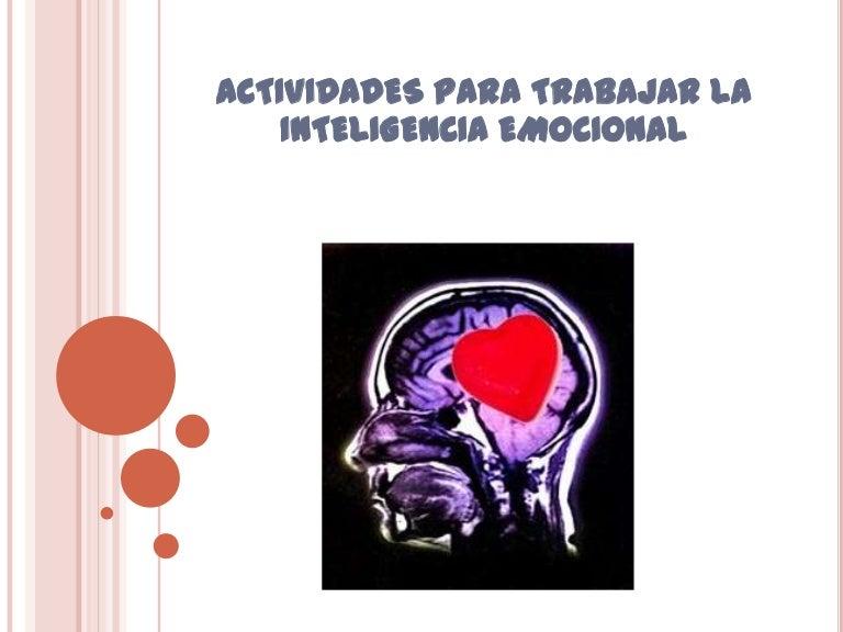 actividades de inteligencia emocional