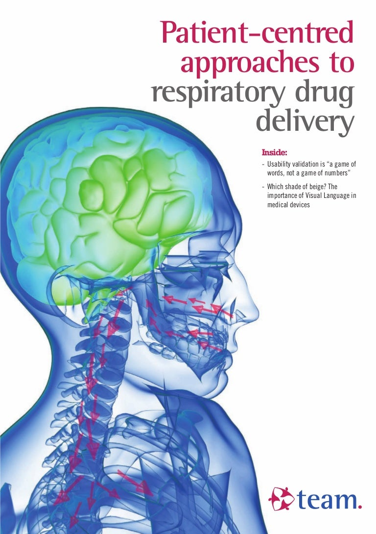 Patient centred approaches to respiratory drug delivery