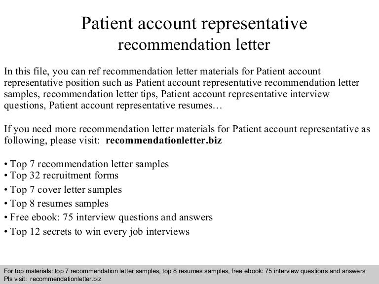 patientaccountrepresentativerecommendationletter 140817224945 phpapp02 thumbnail 4jpgcb1408376162