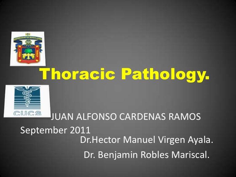 Patrones radiológicos en la patología pulmonar.