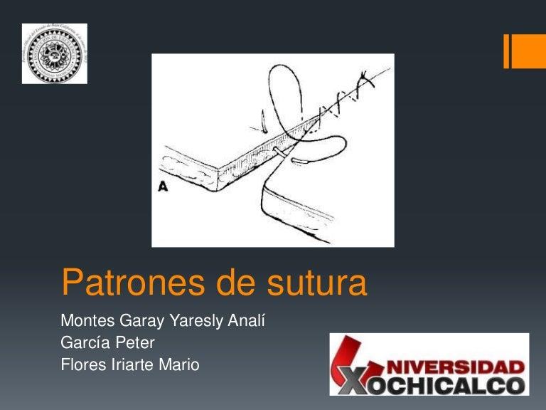 Patrones de sutura