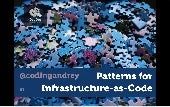 Patterns for Infrastructure-as-code for DevOps Linz 2016