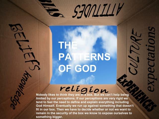 Patterns of god talk 12 9-18