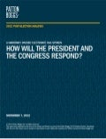 2012 Post-Election Analysis - A Narrowly Divided Electorate Has Spoken: How Will The President and The Congress Respond?