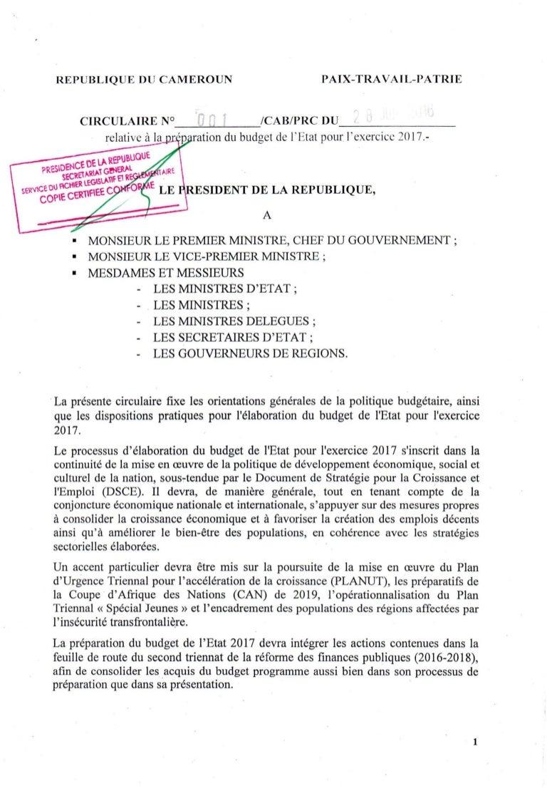MERCURIALE 2016 CAMEROUN TÉLÉCHARGER