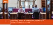 Learning Online, blended and face-to-face, Paul McKean, Jisc
