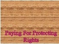 Paying for protecting rights