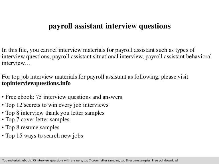 Free Resume Samples Payroll Clerk Sample Resume Payroll Supervisor Resume  Sample Treasury Supervisor Resume Sample Samples  Payroll Resume