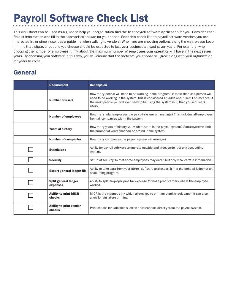 Payroll checklist 08_10