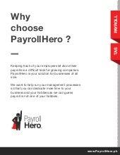 PayrollHero Philippine Payroll Features