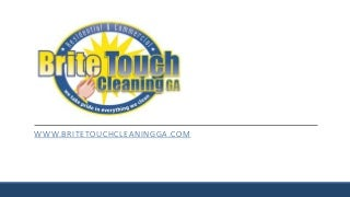Lawrenceville, GA Office Cleaning - Brite Touch Cleaning GA