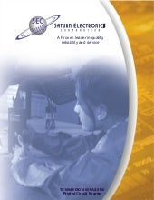 PCB Fabrication Manufacturer Corporate Brochure