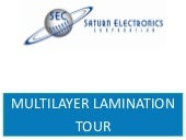 PCB Multilayer Lamination, Multilam Process Tour for Circuit Board Production