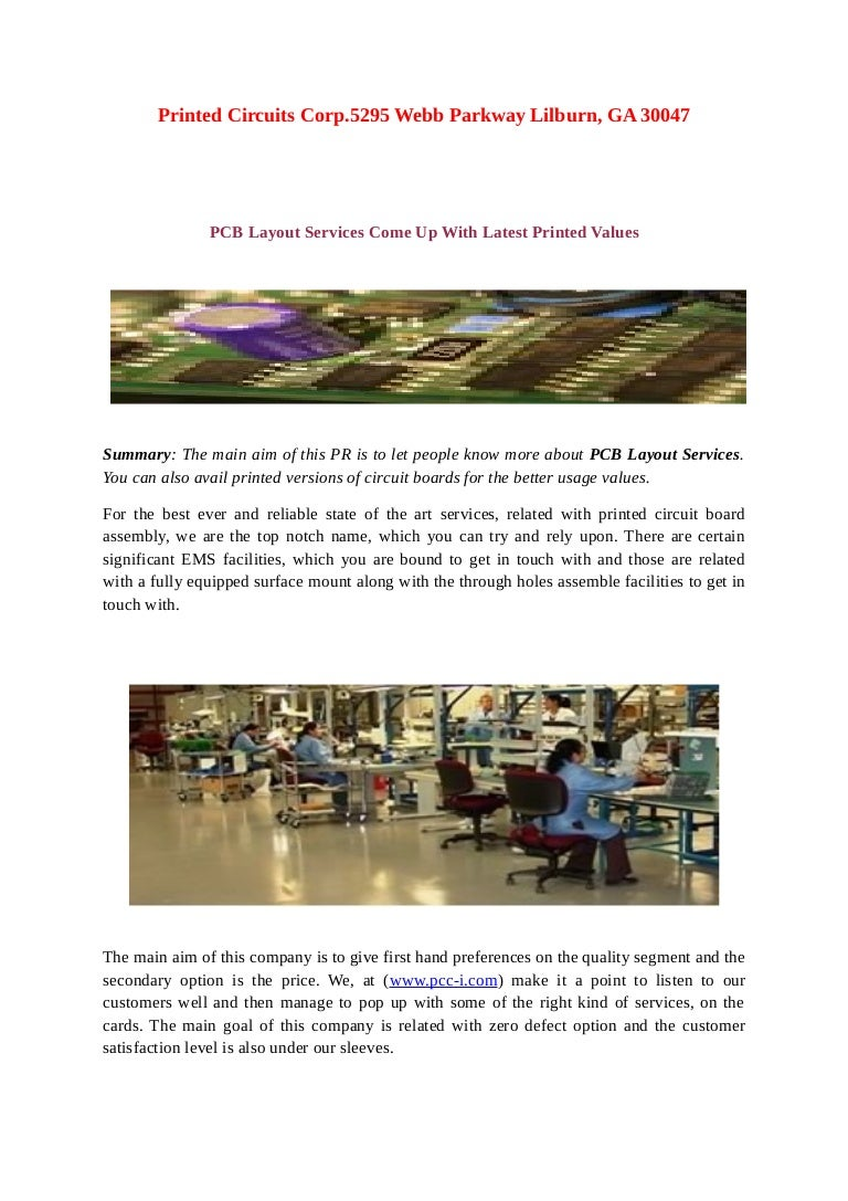 Pcb Layout Services Come Up With Latest Printed Values Pcc Icom Objectives Of Circuit Board Printing The Primary Objective