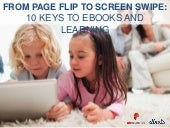 From Page Flip to Screen Swipe: 10 Keys to Ebooks and Learning (Digital Book World and PlayCollective)