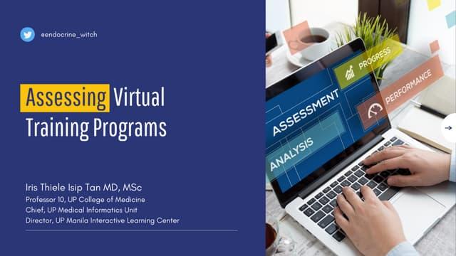 Assessing Virtual Training Programs