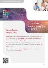 iScrumBoard, work in progress by PCSol - English version
