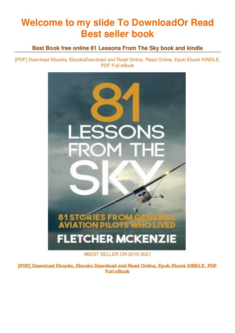 Free [PDF] Download 81 Lessons From The Sky ~^EPub]