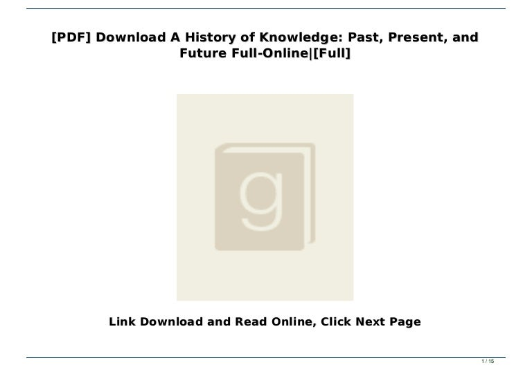 A brief history of the future pdf free download