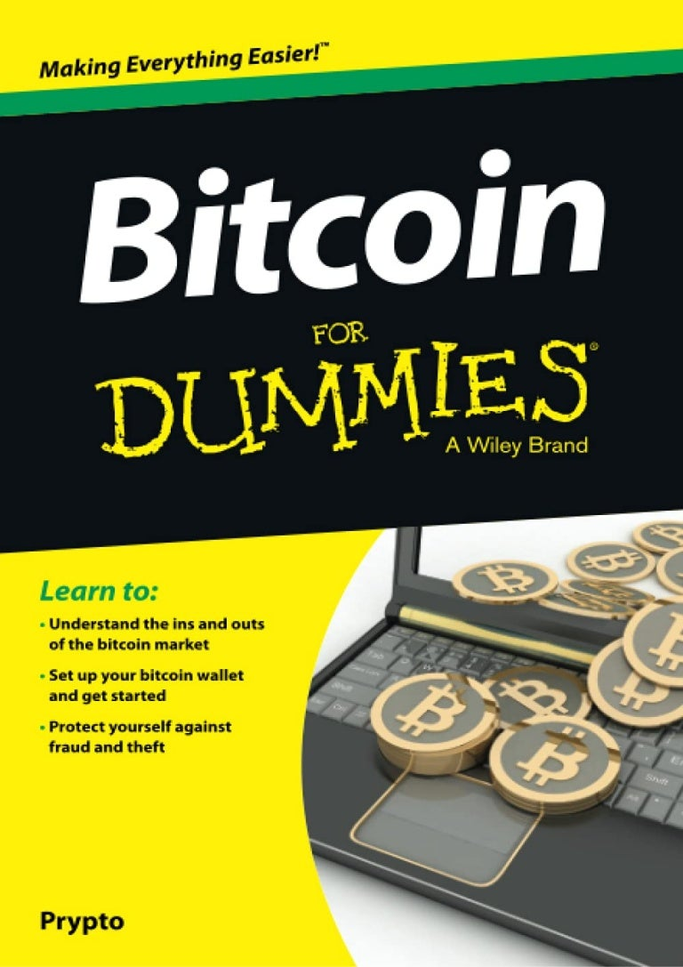 Free ~[PDF Gratuito]~ Bitcoin For Dummies (For Dummies (Business & Personal Finance)) #Read #Download|#Mobi|#EPUB}