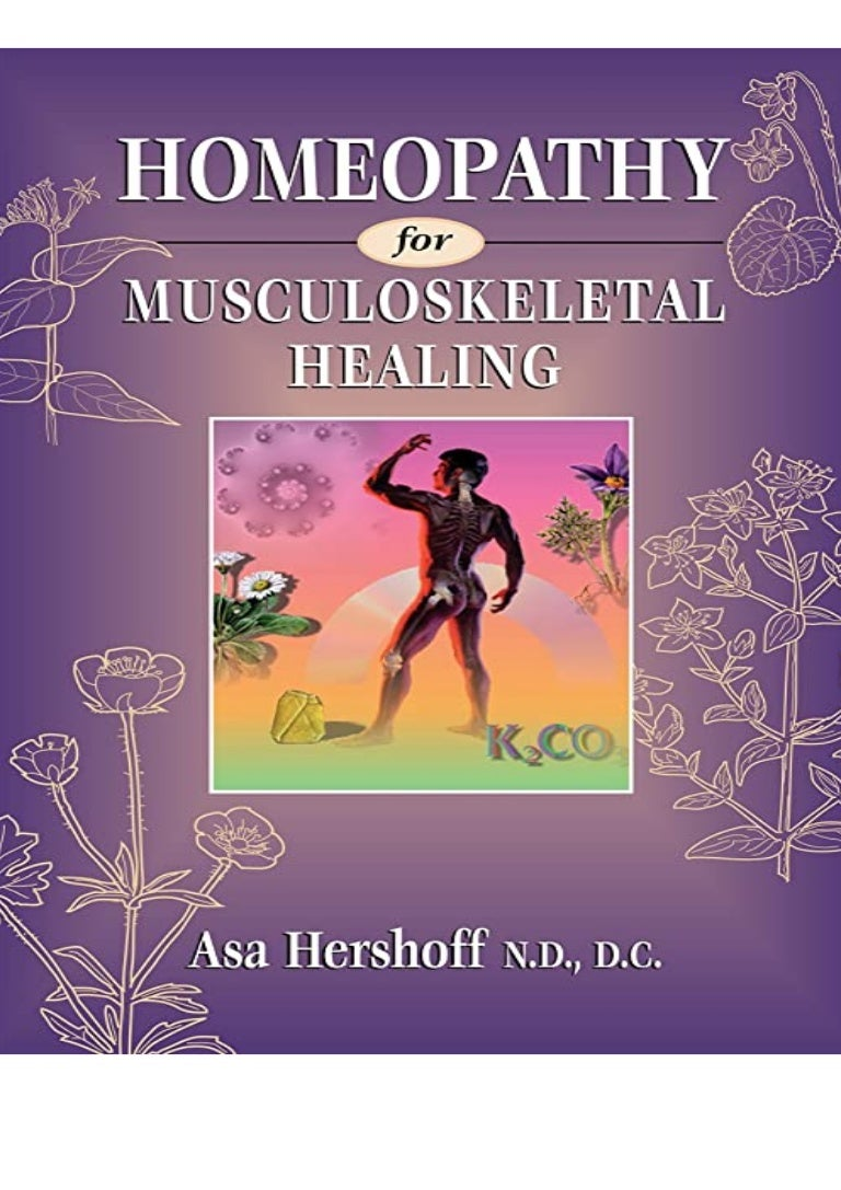 Free Ebook [PDF] Homeopathy for Musculoskeletal Healing BOOK ONLINE