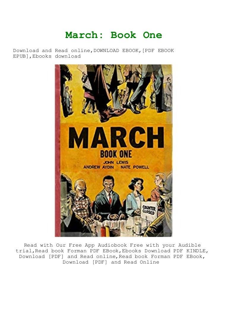 Free Ebook Pdf [download]^^ March Book One Full PDF