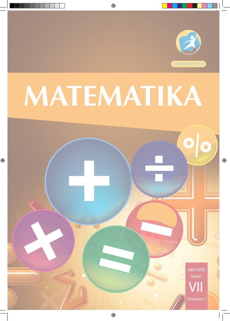 Buku Matematika 7 SMP MTs Semester 1 Siswa