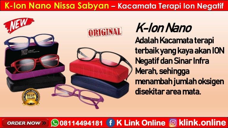 Efek Samping K Ion Nano K Link Kacamata Terapi Wa 08114494181